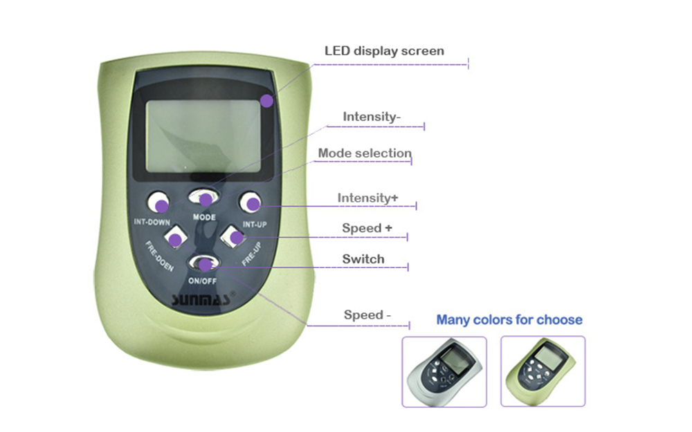 nerve stimulator machine price lowfrequency Supply for home-3