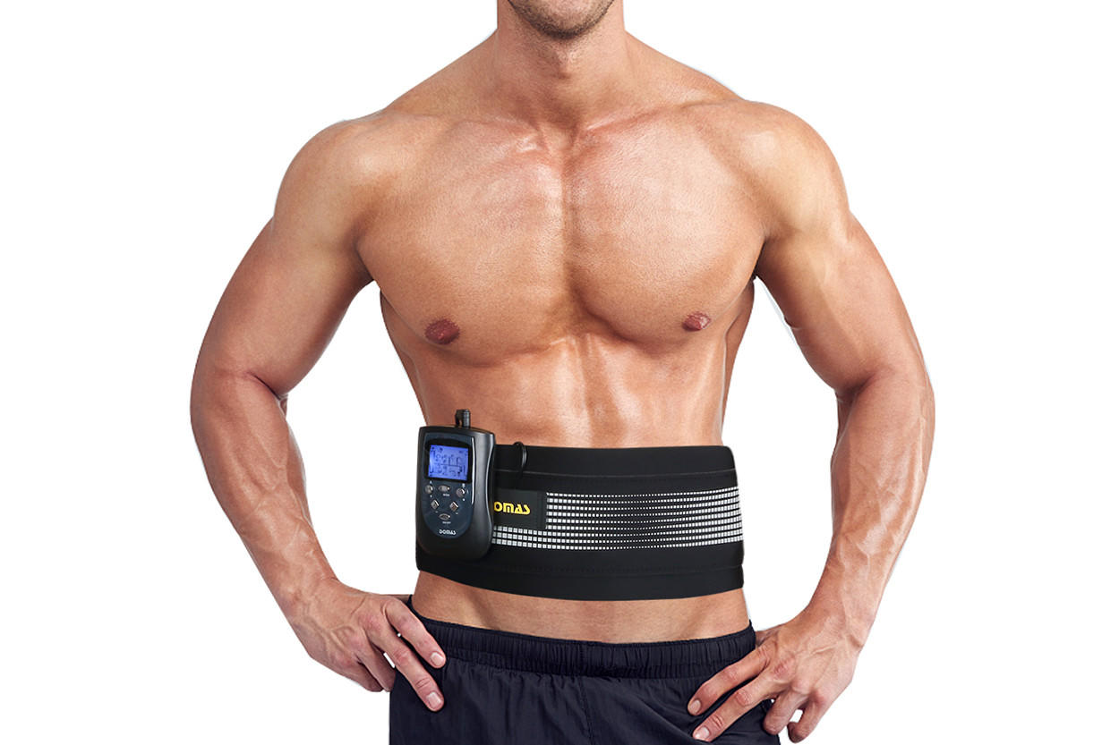 polyester ab toner belt training abs Domas Brand