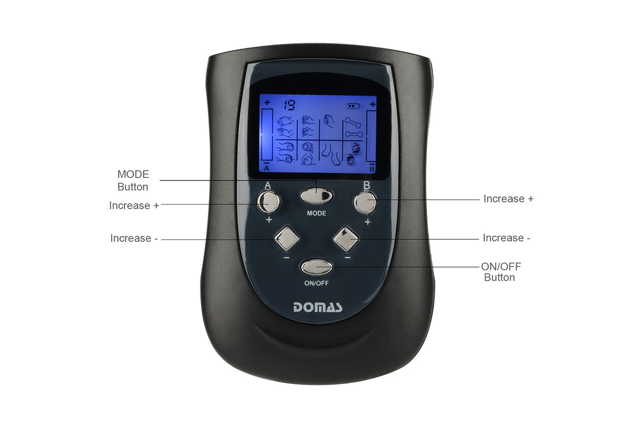 Domas toner portable electric stim machine Suppliers for outdoor-3