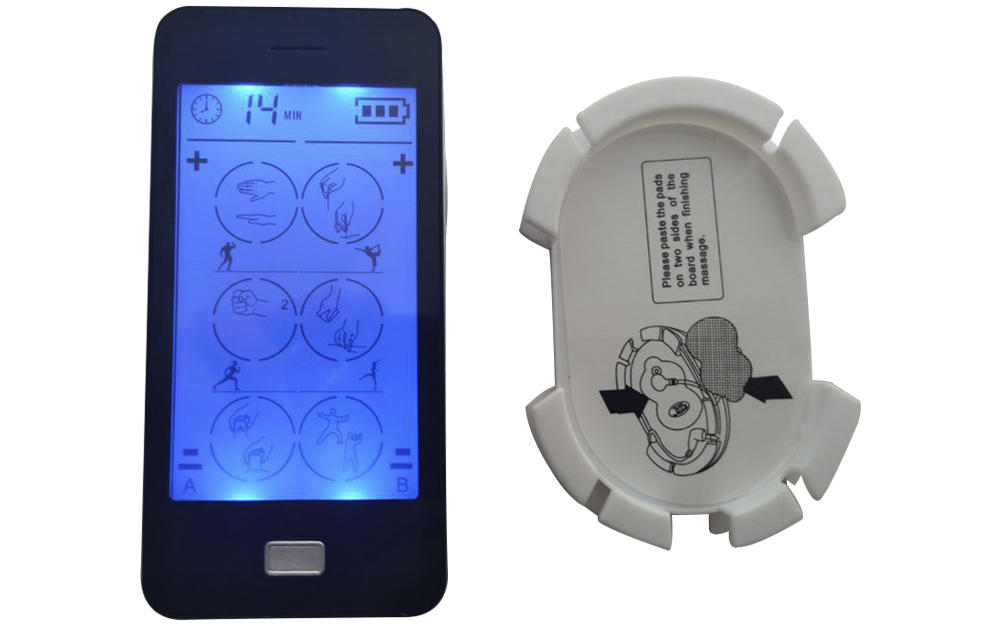 Domas dual port touch screen tens factory price for aged-1