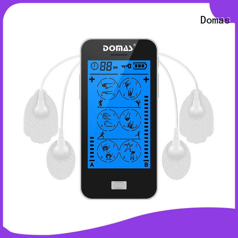 Domas rechargeable tens devices for sale company for home