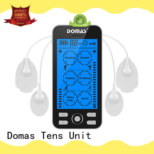 Domas medical electronic pulse massager design for home
