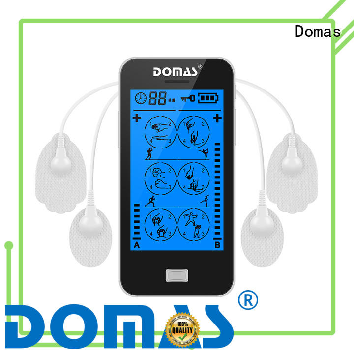 Domas rechargeable touch tens machine supplier for household