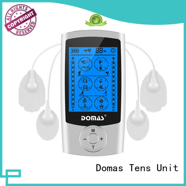 Domas small breast tens unit design for household