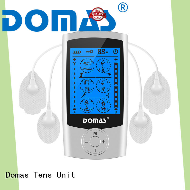 massager electric pulse massager with good price for aged Domas