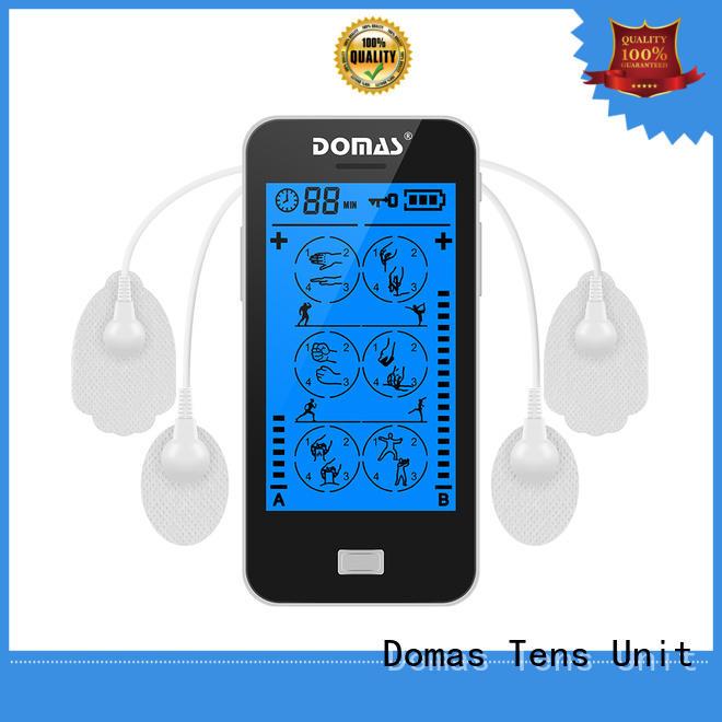 non-invasive drug-free massager Domas Brand touch screen tens unit supplier