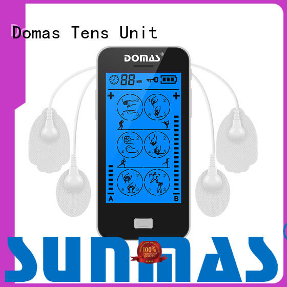 Domas electrical touch tens machine personalized for home