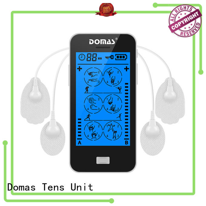 electro-analgesia drug-free non-invasive Domas Brand touch screen tens unit supplier