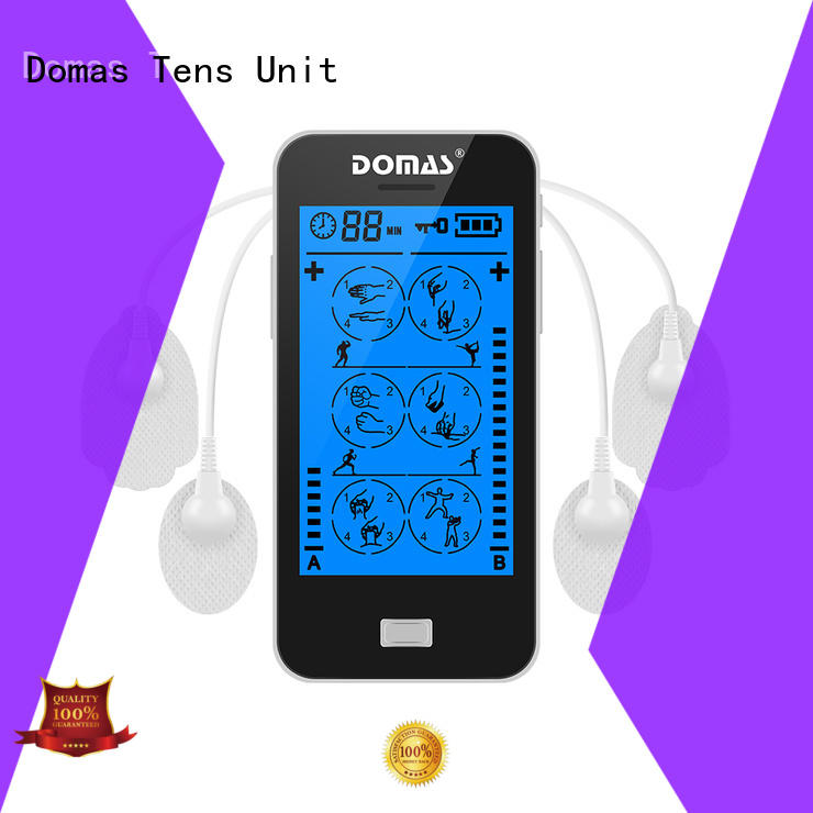 dual port touch screen tens personalized for adults Domas