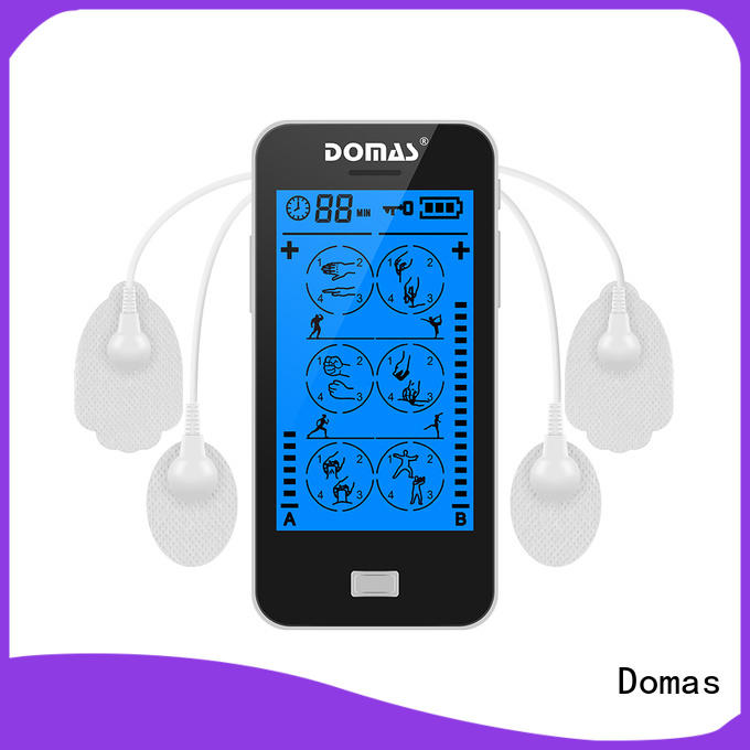 Domas medical handheld tens machine factory for adults