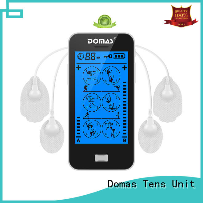 Domas nerve stimulate touch screen tens wholesale for household