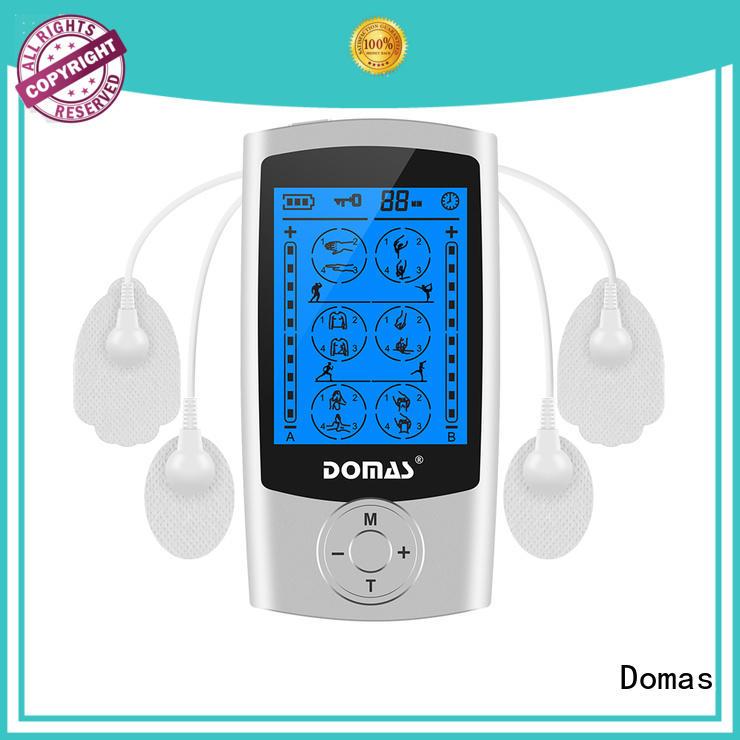 digital pulse massager dual port for home Domas