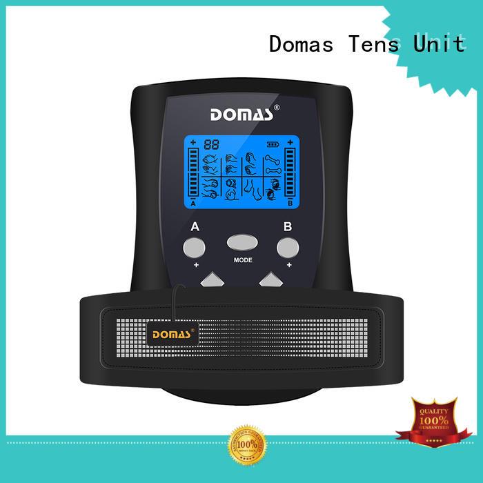 Domas electrode ems belt massager for outdoor