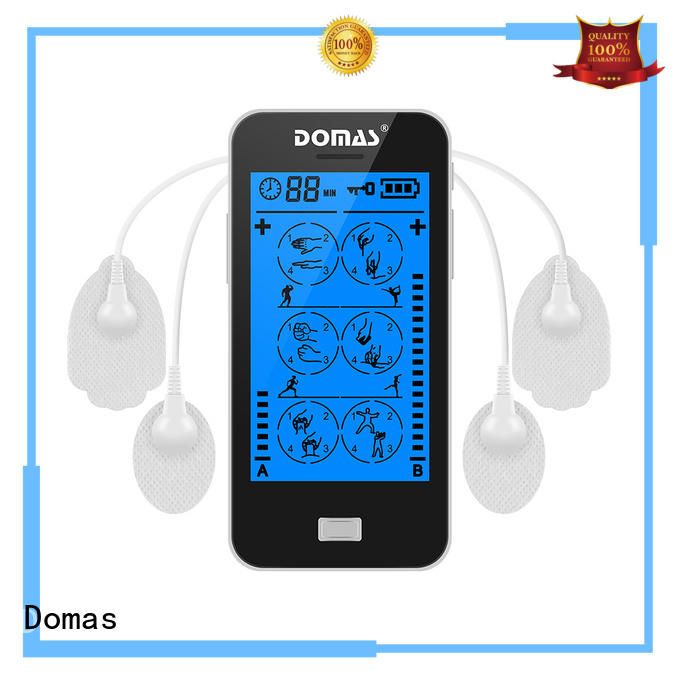 Domas dual port touch screen tens factory price for aged