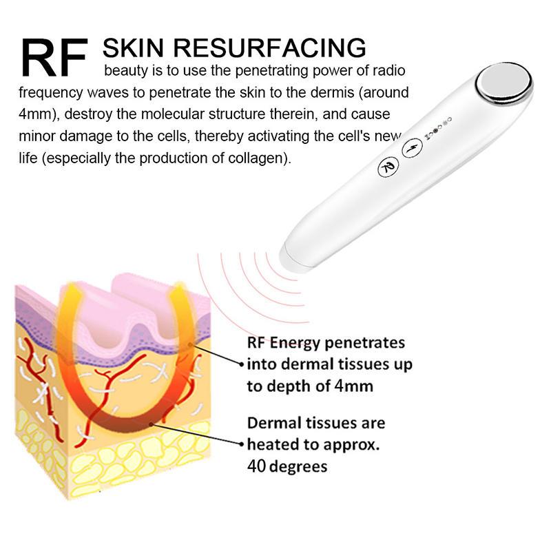 sunmas anti aging beauty skin care device facial instrument improve skin texture rf skin tightening machine