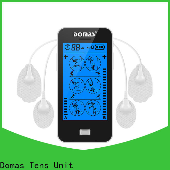 Domas dual port transcutaneous electrical nerve stimulation machine price supplier for household