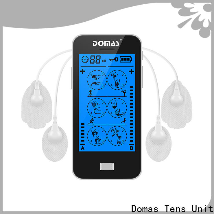Domas dual port best tens therapy unit company for adults