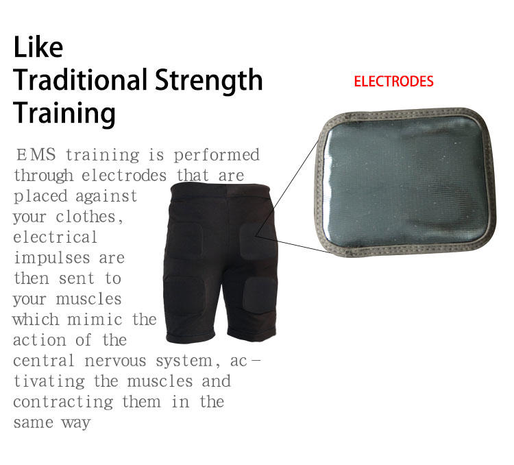 Latest electrical muscle stimulation equipment waist company for sports-3